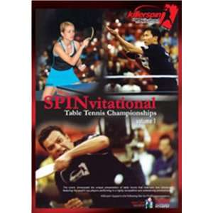 Killerspin Table Tennis DVD 2004 SPINvitational Vol. 1