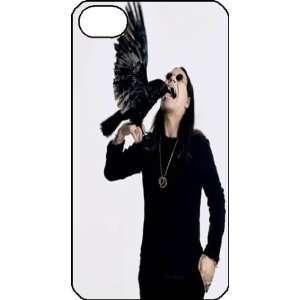 Ozzy Osbourne iPhone 4s iPhone4s Black Designer Hard Case Cover