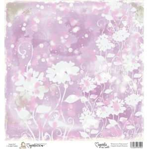 Mini Paper 6X6 Purple Heart Flowers Arts, Crafts & Sewing