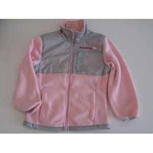 Hello Kitty Infants Girl Fleece Jacket 7/8 Pink/Grey New Baby