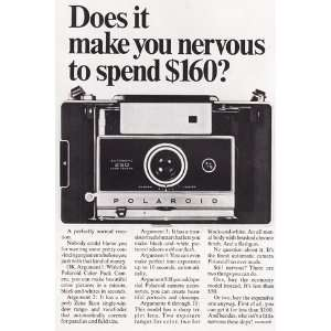 Print Ad 1968 Polaroid Automatic 250 Land Camera Polaroid Books