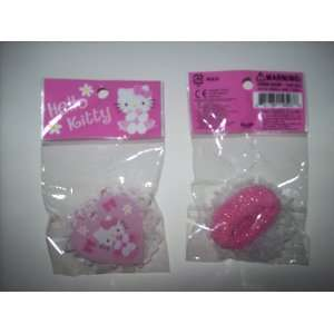 Kitty Hair Accessory Set of Ponytail Holders TWO
