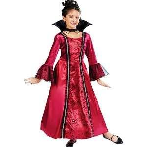 Girls Ruby Princess Costume   Medium Toys & Games