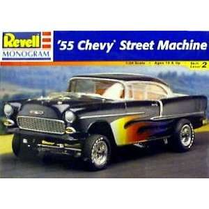 1955 Chevy Street Machine Model Kit by Revell  Toys & Games