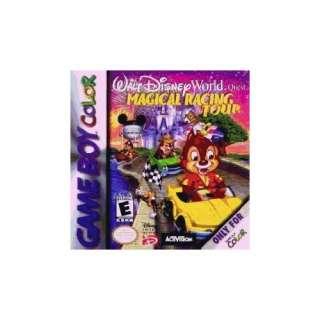 Walt Disney World Quest Magical Racing Tour Video Games
