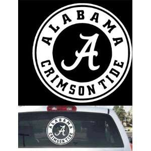 Alabama Crimson Tide Big Rear Window Decal