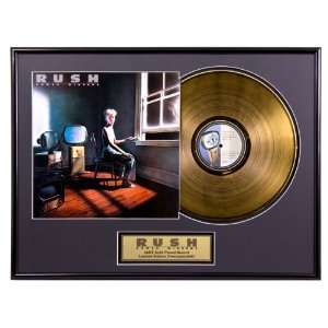 Power Windows limited edition framed gold record