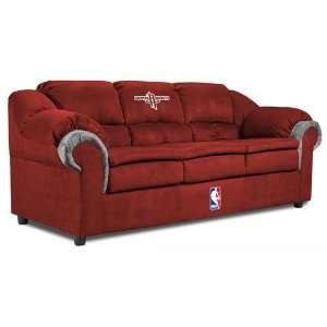 Houston Rockets NBA Micro Fiber Pub Sofa Sports