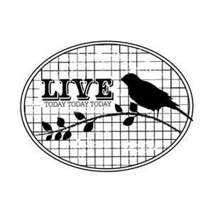Unity Stamps Itty Bitty Unmounted Rubber Stamp Live Today