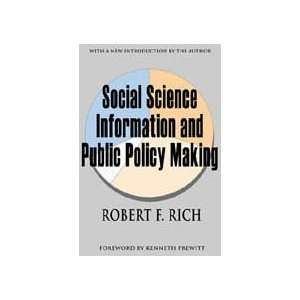 Social Science Information and Public Policy Making