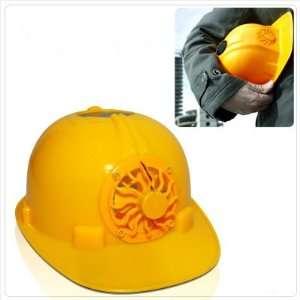 Pellor Solar Fan Safty Helmet Construction Hard Hat Outdoor Sports