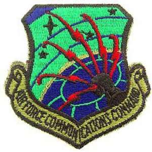 U.S. Air Force Communications Command Shield Patch Green 3