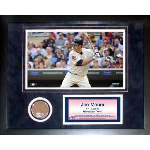 Steiner Sports MLB Minnesota Twins Joe Mauer 11 x 14 inch
