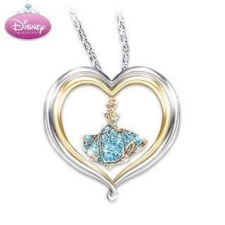 Disney Princess Cinderellas Dream Heart Shaped Sterling Silver