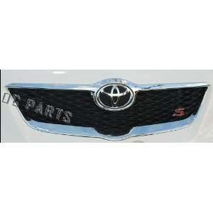 Toyota Corolla Chrome Front Grille Surround Molding: Fits