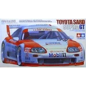 Toyota Supra GT Team Sard Model Car 1 24 Tamiya: Toys & Games