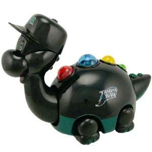 MLB Tampa Bay Rays Black Musical Team Dino Toy Sports