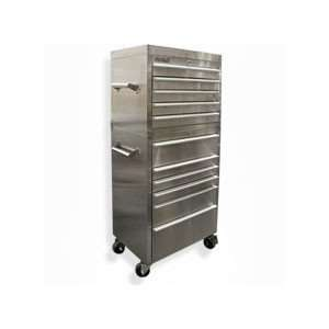 12 Drawer Stainless Steel Tool Chest 28 x 18 x 56 Home Improvement