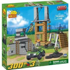 COBI Military Army Training Camp, 300 Piece Set: Toys & Games