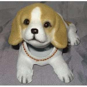 Beagle Dog Bobble Head Doll