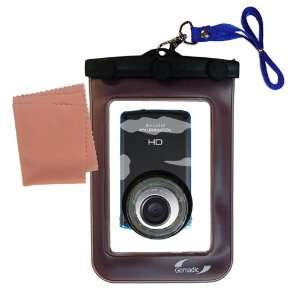 Clean n Dry Waterproof Protective Case for the JVC GC WP10 Camcorder