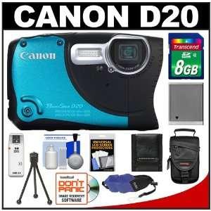 Canon PowerShot D20 Shock & Waterproof GPS Digital Camera