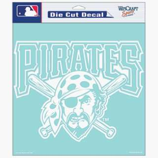 MLB Pittsburgh Pirates 8 X 8 Die Cut Decal