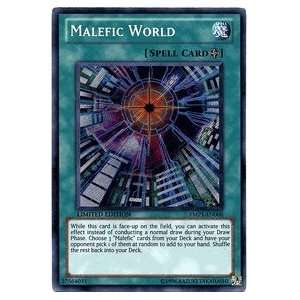 YuGiOh Malefic World   Bonds Beyond Time   Secret Rare Promo Card YMP1