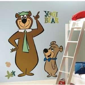 Yogi Bear & Boo Boo Giant Wall Stickers
