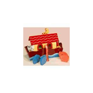 Gift Mark NOAHS ARK SMALL WOODEN TOY 6H x 4W x 9L #4205