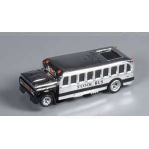 4Gear Tom Daniel SCool Bus (Chrome) Slot Car Toys
