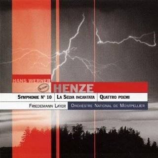 Hans Werner Henze Symphonies Nos. 7 & 9; Barcarola; Three