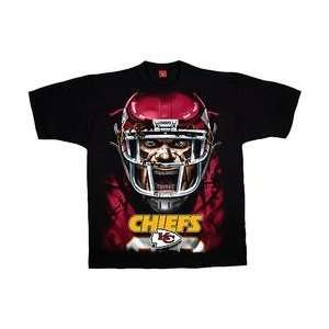 Liquid Blue Kansas City Chiefs Rage T Shirt   Kansas City Chiefs