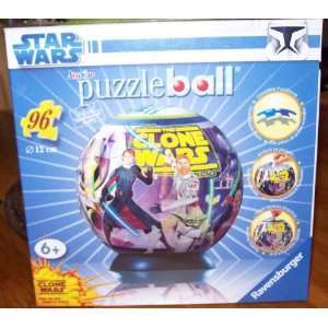 Star Wars The Clones Wars Puzzle Ball