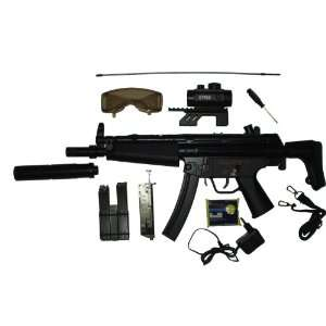 KP5 CM023 Airsoft Electric Gun Full Size LOADED  Sports