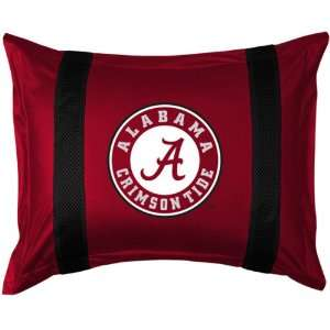 Sidelines Alabama Crimson Tide Standard Pillow Sham