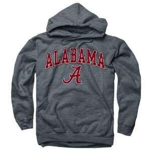 Alabama Crimson Tide Dark Heather Perennial II Hooded Sweatshirt