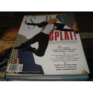 Spy Magazine (SPLAT Wall Strreet Goes Wild , Mike Milken , Gloria