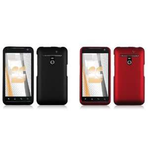 Hard Case Covers (Black, Red) + Atom LED Keychain Light + Case Opener