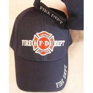 Department Hat Dept Firemen Fdny Ball Baseball Cap