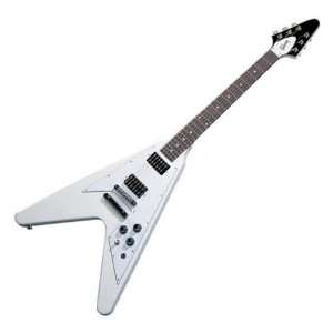 Gibson Flying V 1968 Electric Guitar, Classic White