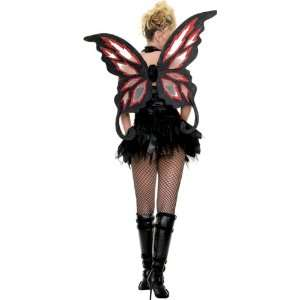 Wings Fire Glitter Fairy Pixie Angel