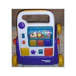 Todays Kids Toddler Walker & Pusher Learning Toy Toys & Games