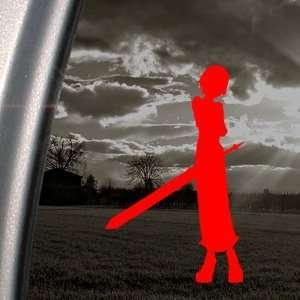 Soul Eater Red Decal Crona Ragnarok Truck Window Red