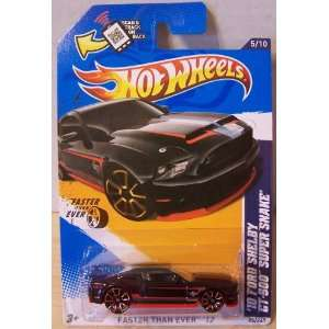 2012 Hot Wheels Faster Than Ever 10 Ford Shelby GT 500 Super Snake