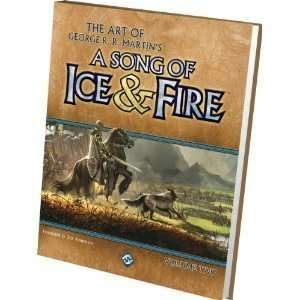 Hardcover:The Art of George RR Martins A Song of Ice Fire