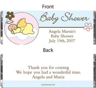 This angel baby shower favor is perfect and cute. Wrap this baby