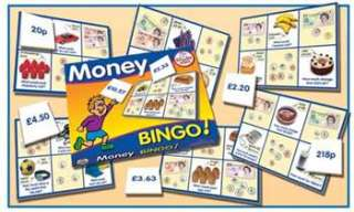 Money Bingo  Money  Maths Toys  Educational Toys and Games
