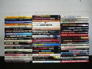 Lot of 100 HBs Fiction Mystery Suspense Thriller Books