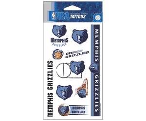 Memphis Grizzlies Tattoos Stickers, Bumper Stickers   Sticker Giant